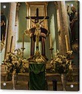 Church Altar Acrylic Print