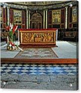 Church Alter Provence France Acrylic Print