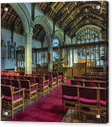 Church At Christmas V6 Acrylic Print