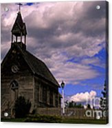 Church At The Okeefe Ranch Acrylic Print