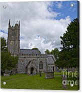 Church Avebury Uk 2 Acrylic Print