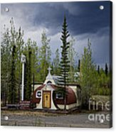 Church Beaver Creek Yukon Acrylic Print