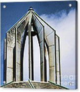Church - Tower Bell - Luther Fine Art Acrylic Print