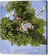 Church Circle Acrylic Print by Heather Applegate