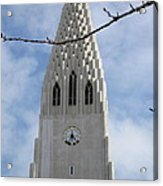Church Clocktower Acrylic Print