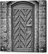 Church Door 02 Acrylic Print