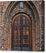 Church Door Acrylic Print