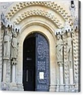 Church Door - Cathedral Bamberg - Germany Acrylic Print