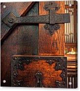 Church Door Acrylic Print