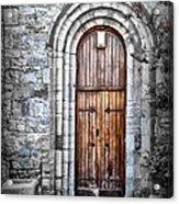 Church Door Killala Ireland Acrylic Print