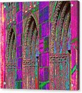 Church Doors Pop Art Acrylic Print