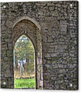 Church Doorway Acrylic Print