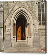Church Entrance Acrylic Print