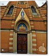 Church Entrance. Palazzolo Acrylic Print