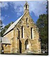 Church In Berrima A Town In Regional New South Wales Australia Acrylic Print