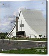 Church In Brazilia Acrylic Print