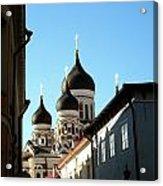 Church In Estonia Acrylic Print