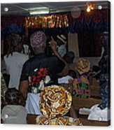 Church In Nigeria Acrylic Print