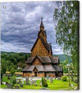 Church In Norway Acrylic Print