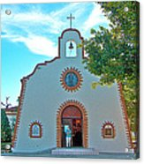 Church In San Carlos-sonora Acrylic Print