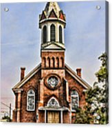 Church In Sprague Washington 2 Acrylic Print