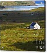 Church In The Glen Acrylic Print