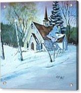 Church In The Wildwood Acrylic Print