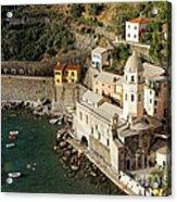 Church In Vernazza  Acrylic Print