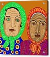 Church Ladies Acrylic Print