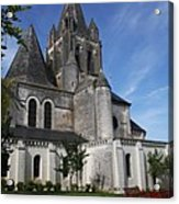 Church - Loches - France Acrylic Print