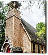 Church Of Atonement Acrylic Print by Steven  Taylor