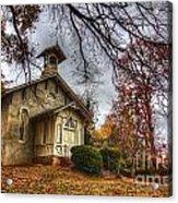 Church Of Autumn Acrylic Print