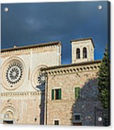 Church Of  Di San Pietro In Assisi Acrylic Print