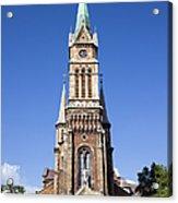 Church Of Ferencvaros In Budapest Acrylic Print