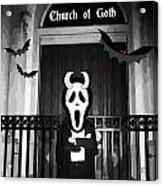 Church Of Goth Acrylic Print