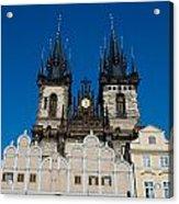 Church Of Lady Before Tyn Acrylic Print