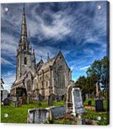 Church Of Marble Acrylic Print