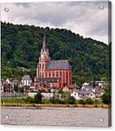 Church Of Our Lady  Oberwesel Am Rhein Acrylic Print
