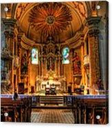 Church Of Saint Agnes Acrylic Print
