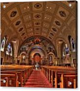 Church Of Saint Bernard Acrylic Print