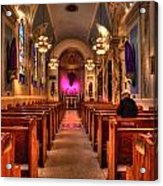 Church Of Saint Louis Acrylic Print