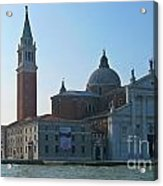 Church Of San Giorgio Maggiore Acrylic Print