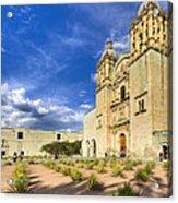 Church Of Santo Domingo De Guzman In Oaxaca Acrylic Print