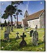 Church Of St John The Evangelist - Kenn - North Somerset Acrylic Print