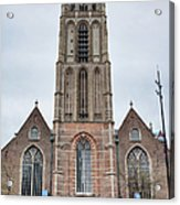 Church Of St Lawrence In Rotterdam Acrylic Print