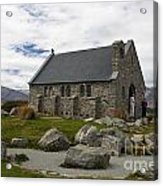 Church Of The Good Shepherd Lake Tekapo New Zealand Acrylic Print