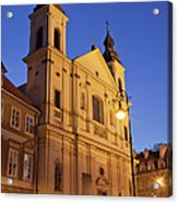 Church Of The Holy Spirit In Warsaw Acrylic Print