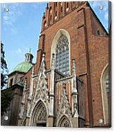 Church Of The Holy Trinity In Krakow Acrylic Print