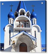 Church Of The Nativity Of The Blessed Virgin Acrylic Print