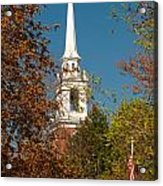 Church Of The Redeemer  From The Lexington Battlefield Acrylic Print
